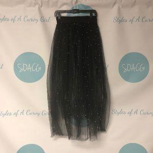 Dresses & Skirts - Beaded Tulle Skirt